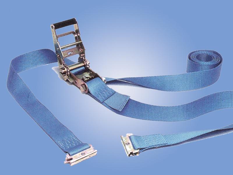 Popruhy šířky 50 mm: 1400 daN vnitřní pás s E karabinou