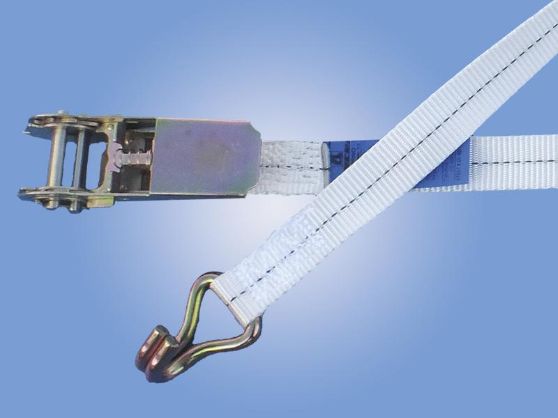 Popruhy šířky 25 mm: 750 daN s hrotovým hákem